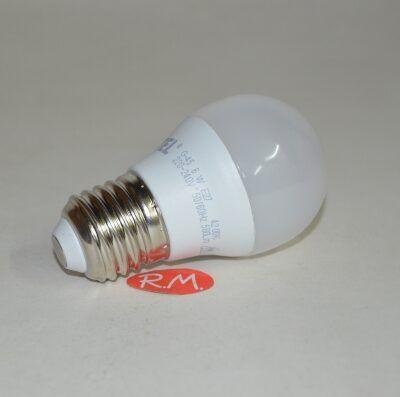 Bombilla led esférica E27 6W 4200K