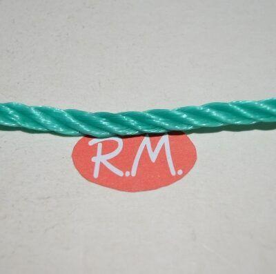 Cuerda de plástico verde Ø 5 mm a metros