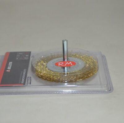 Cepillo circular alambre con espiga 100 mm