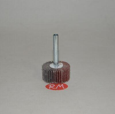 Cepillo lija abanico 30 mm grano 60