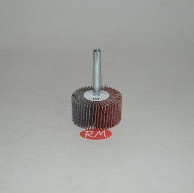Cepillo lija abanico 40 mm grano 60