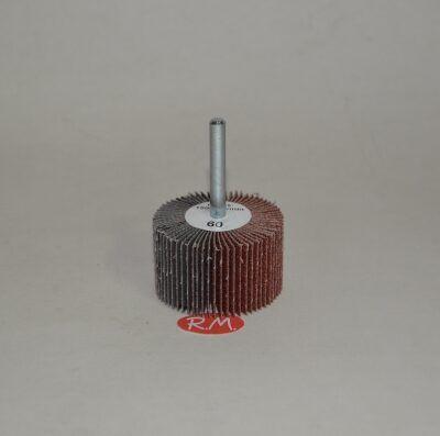 Cepillo lija abanico 50 mm grano 60