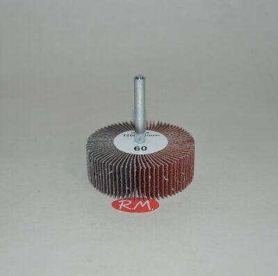 Cepillo lija abanico 60 mm grano 60