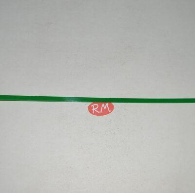 Brida 4.8*250 mm de color Verde 30 ud.