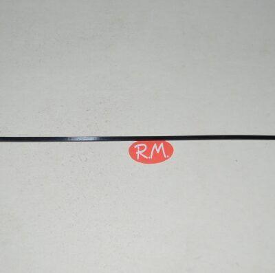 Brida 2.5*200 mm de color Negra 30 ud.