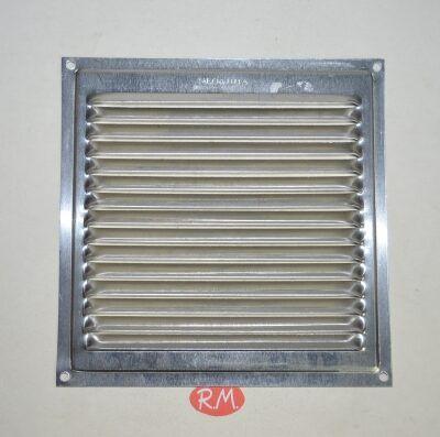 Rejilla plana aluminio 15*15 cm