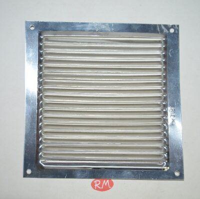 Rejilla plana aluminio 17´5 x 17´5 cm