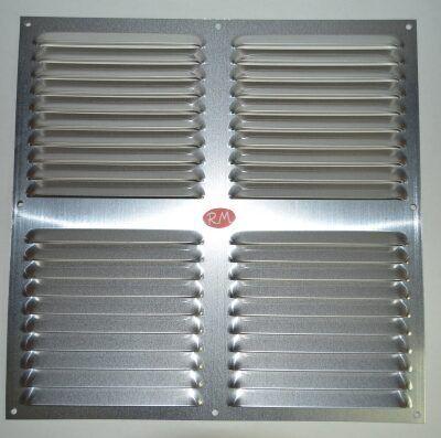 Rejilla plana aluminio 30*30´2 cm