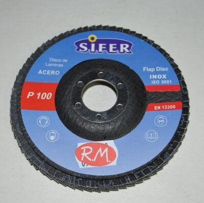 Disco abrasivo 115 mm grano 100