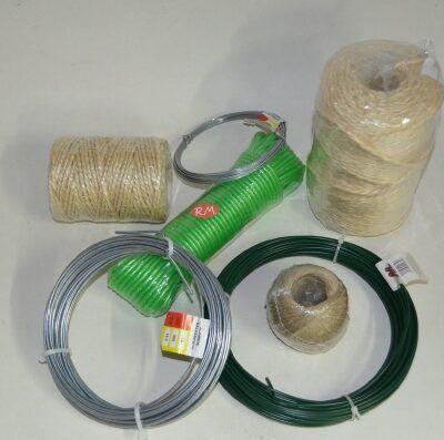 Cuerda y alambre