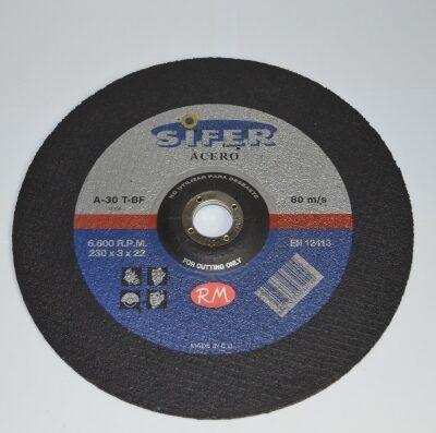Disco corte acero 230 x 3 x 2.2 mm