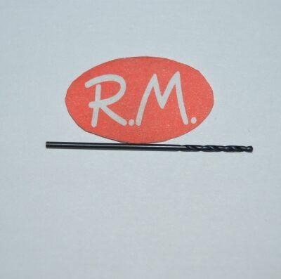 Broca HSS para metal en acero rápido 1 mm