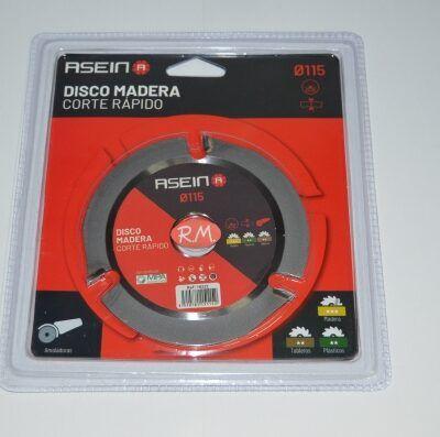 Disco corte para madera y plásticos Ø115 mm