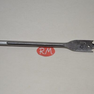 Broca madera de tres palas 16 mm