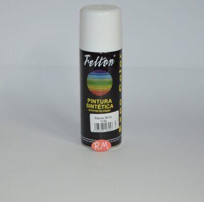 Spray pintura blanco brillo 200ml