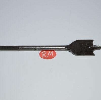Broca madera de tres palas 25 mm