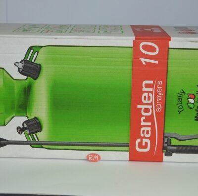 Pulverizador 10 litros con bomba de presión y lanza