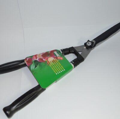 Tijera cortasetos con mango telescópico de aluminio