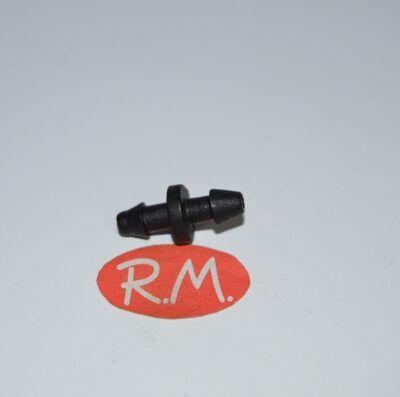 Manguito unión microtubo riego 4-6 mm