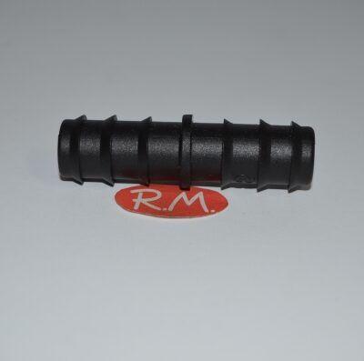 Manguito unión tubo riego 16 mm
