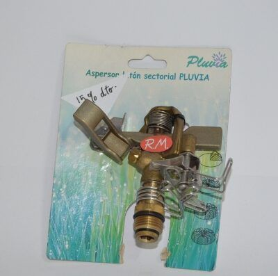 Aspersor riego Pluvia sectorial
