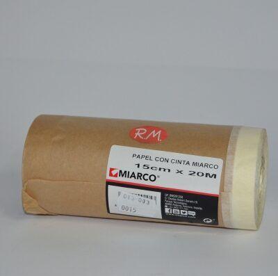 Papel con cinta pintar 15 cm x 20 m