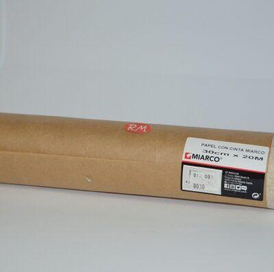 Papel con cinta pintar 30 cm x 20 m