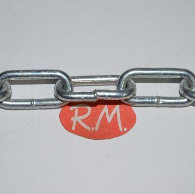 Cadena de 3 mm zincada a metros